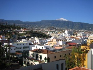 charter från luleå till Puerto de la Cruz i Spanien