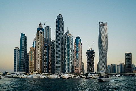 Byggnader i Dubai