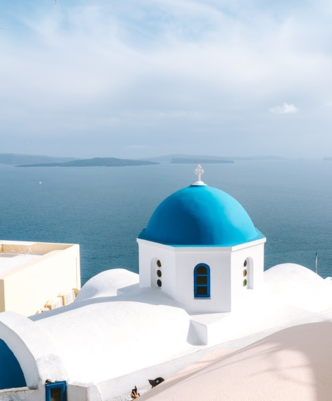 Klassisk bild från Grekland